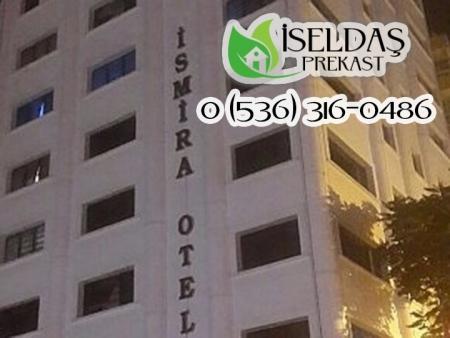 İsmira Otel Prekast Montaj ve İşçiliği