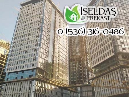 İstanbul Uluslararası Finans Merkezi Yapı Yapı A. Ş. Ortaklığı Prekast İmalat ve Montaj