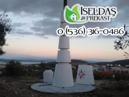 İzmir Yüksek Teknoloji Enstitüsü İYTE Anıt Çeşme Prekast Uygulaması