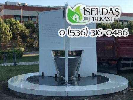 İzmir Yüksek Teknoloji Enstitüsü İYTE Prekast Anıt Çeşme